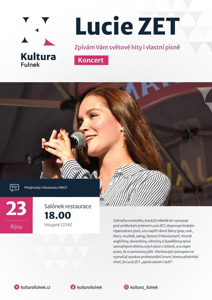 Koncert - Lucie ZET 1