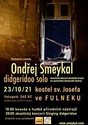 Ondřej Smeykal - didgeridoo solo 1
